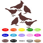 6 Bird Animal Decals vinyl wall decals stickers home window door art decor car