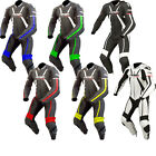 ARMR Moto Harada R One Piece Leather Motorcycle Suit Vented Motorbike Racing