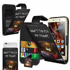 For Samsung Galaxy S7 edge - Printed Clip On PU Leather Flip Case  Cover