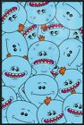 """RICK AND MORTY - FRAMED TV SHOW POSTER / PRINT (MR. MEESEEKS) (SIZE: 24"""" x 36"""")"""