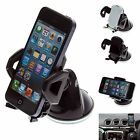 Multi Surface Car Dash Mount with Black Adjustable Holder for Apple iPhone 5s