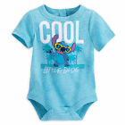 Disney Store Lilo & Stitch Baby Bodysuit Outfit Boys Size 3 6 9 12 18 24 Months