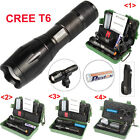 LED Flashlight X800 G700 5000lm CREE T6 Tactical Police Torch Battery Mount Box