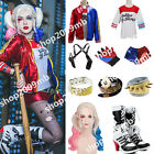 Halloween Harley Quinn Suicide Squad Daddy's Jacket Shirt Shorts Costume Lot
