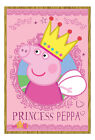 Peppa Pig Princess Peppa Magnetic Notice Board Includes Magnets