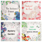 Painted Fairy Garden English Coloring Book Adult Children Painting Graffiti Book
