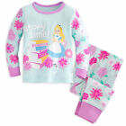 Disney Store Alice in Wonderland Baby Pajamas PJ's Size 0-3 6-9 Months NWT