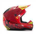 NEW FLY RACING KINETIC ELITE ONSET MX ADULT HELMET RED/BLACK/HI-VIS ALL SIZES