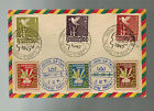 1947 Meerbeck Displaced Persons DP Camp Cover Germany Lithiania Mixed Franking
