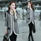 Hot Women Cardigan Sweater Knitwear Hoodie Hoody Top Outerwear Long Sleeve Coat