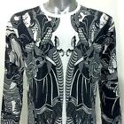 ls19 M L XL Japanese Irezumi Tattoo Long Sleeve T-shirt Samurai Ninja Warrior