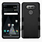 For LG V20 Premium IMPACT TUFF HYBRID Protector Case Skin Phone Cover Accessory