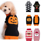Pet Dog Winter Warm Coat Puppy Jumper Cat Knit Sweater Clothes Xmas Outfits 2016