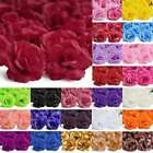 20pcs 70mm Artificial Big Rose Flower Heads For Wedding Home Decoraction Lots