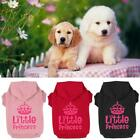 New Dog Cat Hoodie Sweater Clothes Crown Pattern Pet Puppy Coat Small and Large