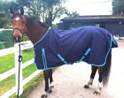 New LightWeight NAVY BLUE turnout rug/rain sheet no fill 600 Denier  *sale*