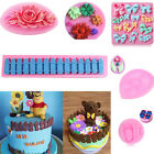 3D Silicone Fondant Mould Chocolate Sugarcraft Cake Cookie Mold DIY Baking Tool
