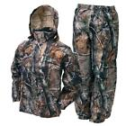 Внешний вид - Frogg Toggs Camo All Sport Jacket Pants Combo Realtree Xtra Rain Suit
