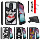 For  ZTE Z MAX PRO | ZMAX Pro Carry Z981 Holster Clip Stand Case Joker