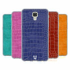 HEAD CASE DESIGNS CROCODILE SKIN PATTERN SOFT GEL CASE FOR LG PHONES 2