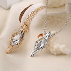 Lord of the Rings Hobbit Galadriel Silver Crystal Phial ID Pendants Necklace