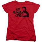 Star Trek The Next Generation Sci-Fi TV Series I'm Number One Women's T-Shirt