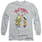Ed Edd N Eddy Cartoon Network Show Victory Adult Long-Sleeve T-Shirt $28.95 USD on eBay