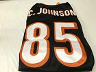 NWT CHAD JOHNSON #85 RETRO CINCINNATI BENGALS BLACK AUTHENTIC REEBOK Jersey on eBay