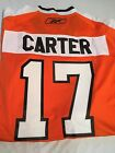 BRAND NEW JEFF CARTER 17 RETRO PHILADELPHIA FLYERS ORANGE REEBOK JERSEY NWT