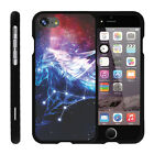 """For Apple iPhone 7 (4.7"""") Case Snap On 2 Piece + Tempered Glass Constellations"""