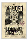 Framed Fantastic Beasts Extremely Dangerous Poster New