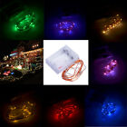 2M 50 LED Copper Wire String Light Starry Christmas Tree Decoration +Battery Box