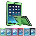 iPad Air 2 Heavy Duty Case Shockproof Cover with Built In Screen Protector