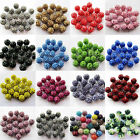 20Pcs 9mm Czech Acrylic Rhinestones Pave Clay Round Disco Ball Spacer Beads