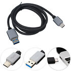 1/1.5/3M HQ Strong Braided Heavy Duty USB C 3.1 Type-C Data Snyc Charger Cable