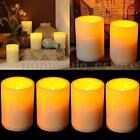 LED Flameless Votive Candles Battery Operated Flickering Tealight Wedding Party