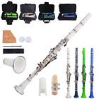 New Blue Green White Dark Blue 17 Keys Bb Clarinet 6 Color for Beginner