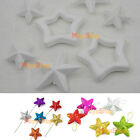 XMAS Polystyrene Styrofoam Foam Star DIY Accessory Handmade Party Decorations