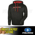 NEW 2017 PURE POLARIS MENS VAPOR HOODIE SWEATSHIRT - BLACK/RED (Small - 3XL)