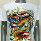 m10w Minute Mirth T-shirt Tattoo Skull SPECIAL TECHNIC Poisoning Apple Snake Tee