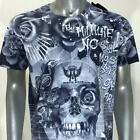 m348 Minute Mirth T-shirt Tattoo CLASSIC STYLE Rose Ghost Skull Casual Men Tee