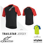 New! 1764516 Alpinestars TRAILSTAR Short Sleeve Jersey T-Shirt MTB Trail XC Bike