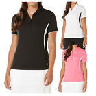 2016 Callaway Ladies Short Sleeve Color Blocked Golf Polo NEW
