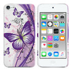 For Apple iPod Touch 5 5th/ 6 6th Gen Design Hard Back Case Cover Protector