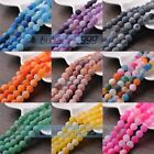 New Wholesale 6~10mm Natural Agate Gemstone Stone Loose Round Spacer Beads Bulk