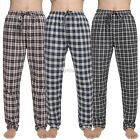 Men Pajamas Pants Bottoms Avidlove Plaid Trousers Lounge Loose Homewear Casual