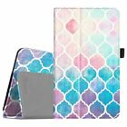 For AT&T Trek 2 HD 8-inch (Model 6461A) PU Leather Case Folio Cover Wake / Sleep