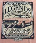 LAID-BACK GM  CAMARO BY CHEVROLET LEGENDS YAM COLOR T-SHIRT NEW WITH TAGS
