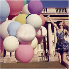 "36"" 90cm Super Large Giant Oval Latex Big Balloons Party Decor Wedding Favours"