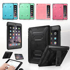 ULAK [KNOX ARMOR] Rugged Shockproof Kickstand Cover Case for iPad Mini 1/2/3